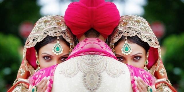 identical brides